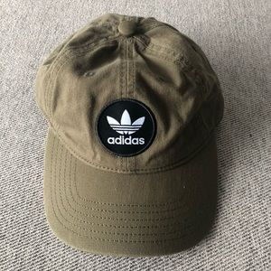 Urban Outfitters Adidas Olive Green Hat